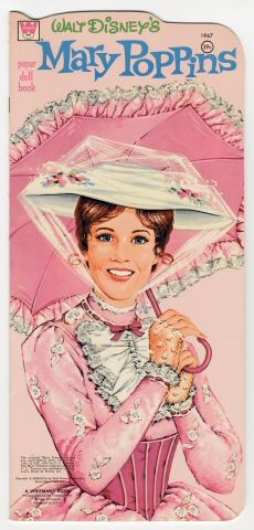 104.1417: Walt Disney's Mary Poppins | paper doll | Paper Dolls | Dolls | National Museum of Play Online Collections | The Strong