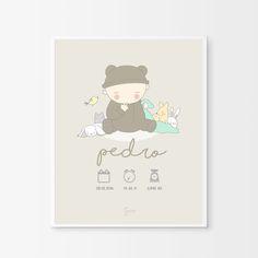 Láminas de Nacimiento Personalizadas