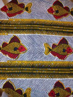 TISSU AFRICAIN COTON WAX ETHNIQUE PAGNE BOUBOU 100 CMS X 118 CMS : Tissus à thème par taxibrousse