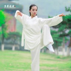 69.99$  Buy now - http://aliqux.worldwells.pw/go.php?t=32744519783 - Chinese Traditional Tai Chi Uniform Surplice Kung Fu Clothing  Wudang Robe 69.99$