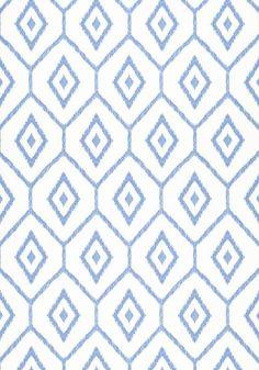 Bari Ikat (W) by Thibaut Wallpapers Wallpaper Stores, Go Wallpaper, Bathroom Wallpaper, Fabric Wallpaper, Pattern Wallpaper, Coastal Wallpaper, Tile Patterns, Cool Patterns, Textures Patterns