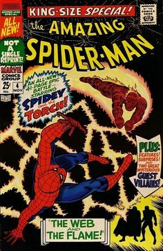 The Amazing Spider-Man Annual #4 - The Web And The Flame! (Issue)