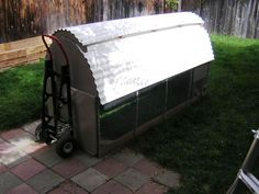 Cargo's Chicken Coop Tractor - BackYard Chickens Community