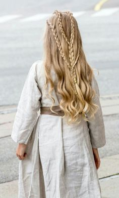 Viking Braided Hairstyle by Annette Collins