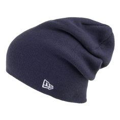 new style bb26f df654 New Era Seasonal Long Knit Beanie - Navy. New Era CapKnit BeanieCaps HatsNavy  ...
