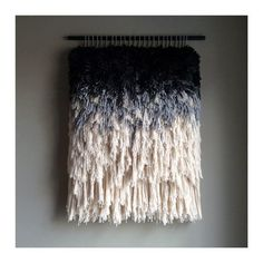 MADE TO ORDER This is a made to order item, please expect approximately weeks for your order to be produced, packaged and prepared for shipment. Weaving Wall Hanging, Weaving Art, Loom Weaving, Tapestry Weaving, Hanging Tapestry, Hand Weaving, Wall Hangings, Textile Sculpture, Art Textile