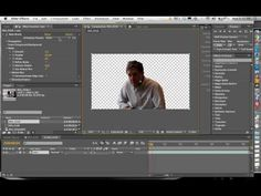 ▶ Remove The Background In A Video Using Rotoscoping In Adobe After Effects CS5 - YouTube