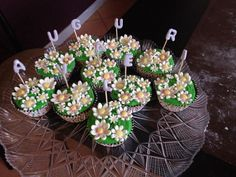 Mini cheesecake to wish happy birthday!!