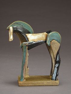 Tricolor Reduction Series, Icelandic Horse by Jeri Hollister (Ceramic Sculpture) x Horse Sculpture, Animal Sculptures, Wall Sculptures, Ceramic Clay, Stoneware Clay, Horse Art, Clay Art, Wall Art Prints, Bronze