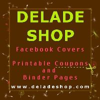 Printable #Coupons and Personalized Binder Pages | http://coupons.deladeshop.com/  #couponbinder #binder #binderpages #printable #facebookcovers