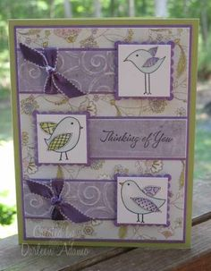 this is a cute layout. would be very cute with my inkadinkado birdies.