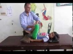 Dyskinetic (Athetoid) Cerebral Palsy : Physiotherapy Technique