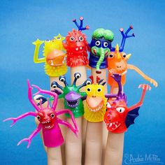 Deluxe Finger Monsters - New picture of a classic item! One of the best!
