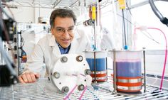 Michael J. Aziz (pictured) and others at Harvard University have developed a metal-free flow battery that relies on the electrochemistry of ...