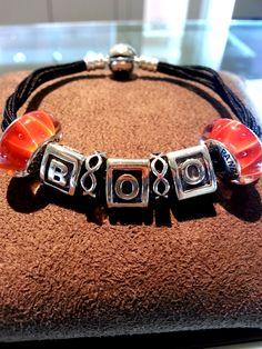 PANDORA Halloween bracelet. #silver #murano #charms #bracelet Vos Pandora Vos créations Your creation Des bracelets Pandora composés, des idées, des couleurs, des suggestions de design, pour tous les goûts et toutes les humeurs. #pandora #bracelets #set #parures #bijoux Bijoux à retrouver sur www.bijoux-et-charms.fr