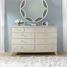 Crestaire - Ladera Dresser in Capiz - 436-23-05 - Stanley Furniture - bedroom - modern furniture