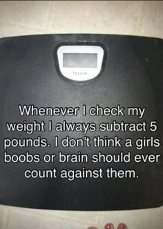 This needs to say minus 20 lbs lol