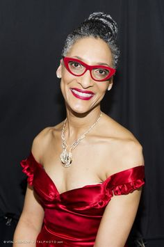 CARLA HALL (The Chew) – Photographed by VITAL AGIBALOW for RED FOR WOMEN – RED DRESS FALL WINTER 2015 COLLECTIONS MERCEDES-BENZ FASHION WEEK in New York | http://www.vitalagibalow.com