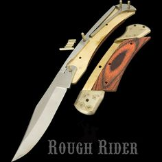 Rough Rider Knives Custom Shop Knife Kit | Heinnie Haynes