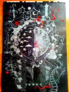The Night Circus Clock by ScarletAlpha