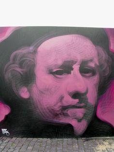 "Incredible Urban Art ""The main man, gorgeous technique."" KB"