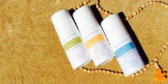 100% Natural Deodorants are aluminum free, propylene glycol free, and synthetic fragrance free. Just the good stuff!