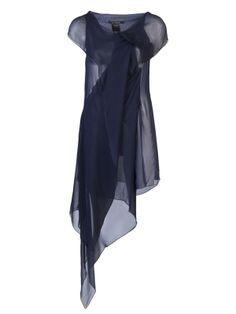 PEACHOO + KREJBERG Long sheer dress by farfetch