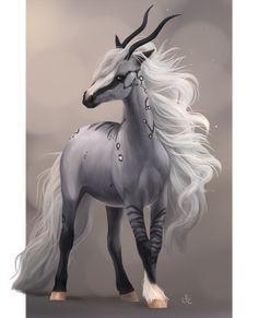 Lisqar Friesian import WINNER by Lunameyza on DeviantArt Cute Fantasy Creatures, Mythical Creatures Art, Mythological Creatures, Weird Creatures, Magical Creatures, Horse Drawings, Animal Drawings, Arte Equina, Mystical Animals