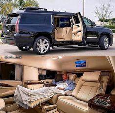 Cadillac Escalade ESV by suv Cadillac Escalade, Cadillac Ats, Escalade Esv, Luxury Van, Top Luxury Cars, Suv Cars, Bmw I8, Toyota Prius, Future Car