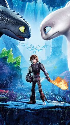 Toothless and the Light Fury! | How to train your Dragon ...