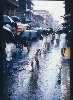 Brian Brake  Monsoon Rains  SELECTED PHOTOGRAPHS FROM THE ESTATE OF BRIAN BRAKE