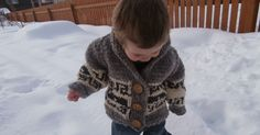 Ravelry: Northern Whale Cowichan Sweater- Toddler's Cardigan pattern by Kristen Cooper Knitting For Kids, Baby Knitting Patterns, Baby Patterns, Free Knitting, Knitting Projects, Crochet Patterns, Knitting Ideas, Craft Projects, Cowichan Sweater