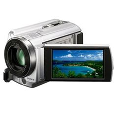 Capture and store your memories directly to the 80GB hard disk drive or optional Memory Stick PRO Duo media cards with the Sony DCR-SR68 Handycam camcorder.