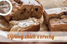 Dýňový chléb s ořechy