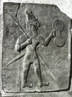 relief orthostate with warrior god, outer citadel. Achaemenid, Ancient Near East, Bronze Age, Ancient Civilizations, North Africa, Highlands, Ancient History, Archaeology, Egypt
