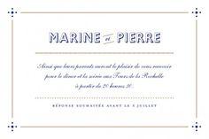 carton invitation mariage Rétro by Marion Bizet pour www.rosemood.fr #invitation #mariage #retro #wedding