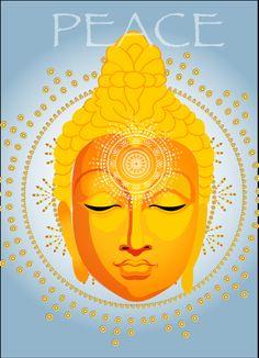 Buddha illustration ❤