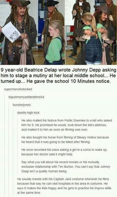 Okay I always say I don't like Johney Depp because of the whole Amber thing! But how can u not love him when you hear things like this! Love always to CAPTAIN Jack Sparrow and his Hat Captain Jack Sparrow, Jack Sparrow Funny, Jack Sparrow Quotes, Will Turner, Pseudo Science, Funny Memes, Hilarious, Funny Tweets, Funny Videos