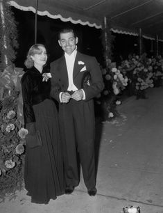 Clark Gable and Carole Lombard in a publicity still for No Man of Her Own (1932), the only film in which they co-starred. Description from pinterest.com. I searched for this on bing.com/images