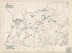 Civil War Battle Of Fort Donelson Tennessee 6 Genuine Vintage West Point Maps