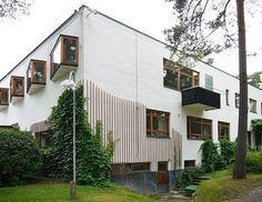blocnotes - Alvar Aalto. Villa Mairea. Noormarkku. Finland,...