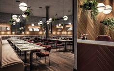 Restaurant-Visualisation on Behance