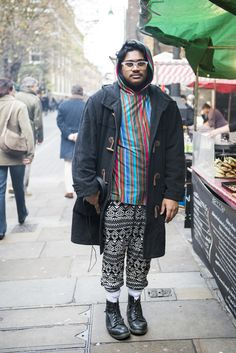 CLR Street Fashion: Mahatma in London (2 of 2) #streetstyle