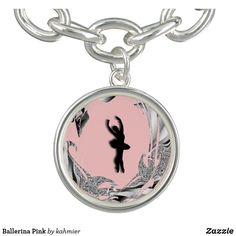 Ballerina Pink Charm