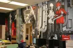 wall graphics and murals - Google Search