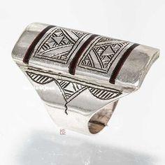 Bague argent ethnique, bijoux touareg Avkarunya 232651