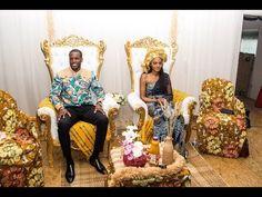 Emmanuelle & Gerard Mariage Traditionnel - YouTube African Wedding Theme, African Wedding Attire, Ethnic Wedding, Evening Dresses For Weddings, Bridal Dresses, Traditional Wedding Attire, Traditional Weddings, Wedding Table Settings, African Dress