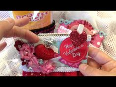 Altered Valentine's Coffee Sleeves - YouTube