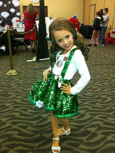 Glitz Pageant Christmas OOC Outfit of Choice Glitz Pageant Dresses, Pageant Wear, Girls Short Dresses, Flower Girl Dresses, Toddler Outfits, Kids Outfits, Christmas Pageant, Disney Dolls, I'm Afraid