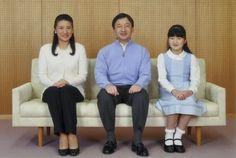 Crown Prince Naruhito, CP Masako and Princess Aiko